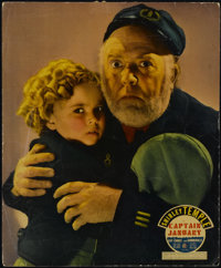 "Captain January (Twentieth Century Fox, 1936). Jumbo Lobby Card (14"" X 17""). Drama. Directed by David Butler..."