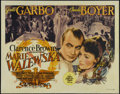 "Conquest (Marie Walewska) (MGM, 1937). Half Sheet (22"" X 28""). Drama. Directed by Clarence Brown. Starring Gre..."