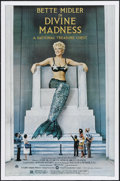 "Movie Posters:Musical, Divine Madness (Warner Brothers, 1980). One Sheet (27"" X 41""). Style B. Concert. Directed by Michael Ritchie. Starring Bette..."