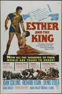 "Esther and the King (20th Century Fox, 1960). One Sheet (27"" X 41""). Drama. Directed by Raoul Walsh. Starring..."