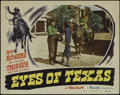 "Movie Posters:Western, Eyes of Texas (Republic, 1948). Lobby Card (11"" X 14""). Western. Directed by William Witney. Starring Roy Rogers, Lynne Robe..."