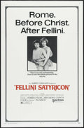 """Movie Posters:Foreign, Fellini Satyricon (United Artists, 1969). One Sheet (27"""" X 41""""). Drama. Directed by Federico Fellini. Starring Martin Potter..."""