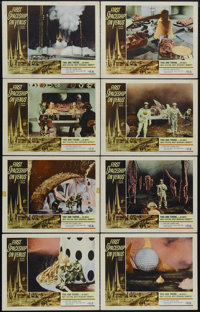 "The First Spaceship on Venus (Crown-International, 1962). Lobby Card Set of 8 (11"" X 14""). Science Fiction. Di..."