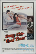 """Movie Posters:Comedy, Good Times (Columbia, 1967). One Sheet (27"""" X 41""""). Comedy. Directed by William Friedkin. Starring Sonny and Cher, George Sa..."""