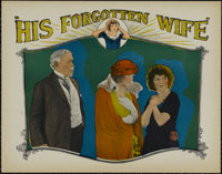 "His Forgotten Wife (FBO, 1924). Lobby Card (11"" X 14""). Drama. Directed by William Seiter. Starring Madge Bell..."