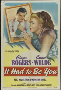 """It Had to Be You (Columbia, 1947). One Sheet (27"""" X 41""""). Comedy. Directed by Don Hartman and Rudolph Mat&eacu..."""