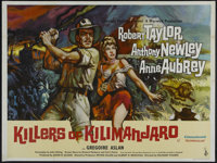 "Killers of Kilimanjaro (Columbia, 1960). British Quad (30"" X 40""). Adventure. Directed by Richard Thorpe. Star..."