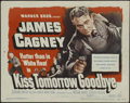 """Movie Posters:Crime, Kiss Tomorrow Goodbye (Warner Brothers, 1950). Title Lobby Card (11"""" X 14""""). Film Noir. Directed by Gordon Douglas. Starring..."""