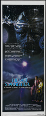 """The Last Starfighter (MCA/Universal, 1984). Insert (14"""" X 36""""). Science Fiction. Directed by Nick Castle. Star..."""
