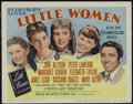 "Movie Posters:Drama, Little Women (MGM, 1949). Title Lobby Card (11"" X 14""). Drama. Directed by Mervyn LeRoy. Starring June Allyson, Peter Lawfor..."