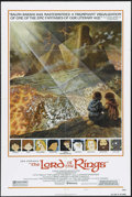 "Movie Posters:Animated, The Lord of the Rings (United Artists, 1978). One Sheet (27"" X41""). Style B. Animated Feature. Directed by Ralph Bakshi. St..."