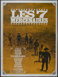 """The Magnificent Seven (United Artists, 1960). French Grande (47"""" X 63""""). Western. Directed by John Sturges. St..."""