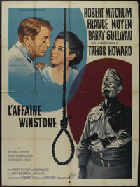"Man in the Middle (The Winston Affair) (20th Century Fox, 1964). French Grande (47"" X 63""). Crime. Directed by..."