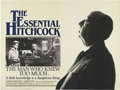 "Movie Posters:Hitchcock, The Man Who Knew Too Much (Paramount, R-1983). British Quad (30"" X 40""). Directed by Alfred Hitchcock. Starring James Stewar..."