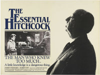 "The Man Who Knew Too Much (Paramount, R-1983). British Quad (30"" X 40""). Directed by Alfred Hitchcock. Starrin..."