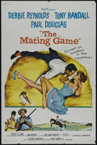 """The Mating Game (MGM, 1959). One Sheet (27"""" X 41""""). Comedy. Directed by George Marshall. Starring Debbie Reyno..."""