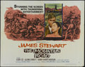"Movie Posters:War, The Mountain Road (Columbia, 1960). Half Sheet (22"" X 28""). StyleA. War. Directed by Daniel Mann. Starring James Stewart, L..."