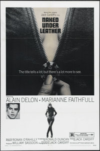 """Naked Under Leather (Warner Brothers-Seven Arts, 1970). One Sheet (27"""" X 41""""). Romance. Directed by Jack Cardi..."""