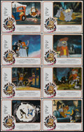 """Movie Posters:Animated, The Nine Lives of Fritz the Cat (AIP, 1974). Lobby Card Set of 8(11"""" X 14""""). Animated Comedy. Directed by Robert Taylor. St...(Total: 8 Items)"""