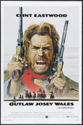 """Movie Posters:Western, The Outlaw Josey Wales (Warner Brothers, 1976). One Sheet (27"""" X 41""""). Western. Directed by Clint Eastwood. Starring Eastwoo..."""