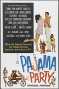 """Movie Posters:Comedy, Pajama Party (AIP, 1964). One Sheet (27"""" X 41""""). Teen Comedy. Directed by Don Weis. Starring Tommy Kirk, Annette Funicello, ..."""
