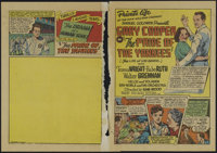 "Pride of the Yankees (RKO, 1949). Herald (7.5"" X 10.5""). Sports Drama. Directed by Sam Wood. Starring Gary Coo..."