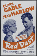 """Movie Posters:Romance, Red Dust (MGM, R-1962). One Sheet (27"""" X 41""""). Drama. Directed by Victor Fleming. Starring Clark Gable, Jean Harlow, Gene Ra..."""