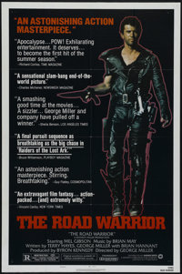 """The Road Warrior (Warner Brothers, 1982). One Sheet (27"""" X 41""""). Style B. Action. Directed by George Miller. S..."""