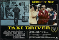 """Taxi Driver (Columbia, 1976) Italian Photo Busta (17.75"""" X 26""""). Crime. Directed by Martin Scorsese. Starring..."""