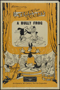 "Movie Posters:Animated, Terry-Toons Stock: The Bully Frog (Educational Pictures, 1937). OneSheet (27"" X 41""). Animated Short. Directed by Mannie Da..."