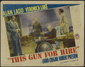 """Movie Posters:Film Noir, This Gun For Hire (Paramount, R-1945). Lobby Card (11"""" X 14""""). Crime. Directed by Frank Tuttle. Starring Alan Ladd, Veronica..."""
