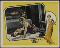 "Vanity's Price (FBO, 1924). Lobby Card (11"" X 14""). Drama. Directed by Roy William Neill. Starring Anna Q. Nil..."