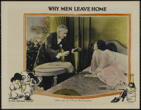 "Why Men Leave Home (Associated First National, 1924). Lobby Card (11"" X 14""). Drama. Directed by John M. Stahl..."