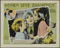 "Women Love Diamonds (MGM, 1927). Lobby Card (11"" X 14""). Drama. Directed by Edmund Goulding. Starring Pauline..."