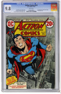 Bronze Age (1970-1979):Superhero, Action Comics #419 (DC, 1972) CGC NM/MT 9.8 White pages. Firstappearance of the Human Target. Curt Swan, Murphy Anderson an...