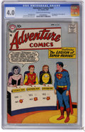 Silver Age (1956-1969):Superhero, Adventure Comics #247 (DC, 1958) CGC VG 4.0 Cream to off-white pages. First appearance of the Legion of Super-Heroes. First ...