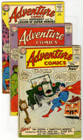 Silver Age (1956-1969):Superhero, Adventure Comics Group (DC, 1963) Condition: Average GD. Issues #306 (first appearance of Legion of Substitute Heroes), 307 ... (Total: 17 Comic Books)
