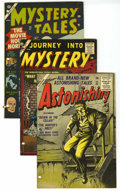 Golden Age (1938-1955):Horror, Atlas Comics Golden Age Horror Group (Atlas, 1952-57) Condition:Average GD. This group of horror titles by Atlas is three-h...(Total: 7)