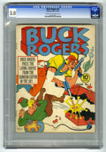 Golden Age (1938-1955):Science Fiction, Buck Rogers #3 (Eastern Color, 1941) CGC GD/VG 3.0 Cream tooff-white pages. Stephen A. Douglas cover art. Overstreet 2006 G...