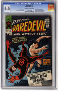 Silver Age (1956-1969):Superhero, Daredevil #7 (Marvel, 1965) CGC FN+ 6.5 Off-white to white pages. First appearance of Daredevil's red costume. DD battles th...