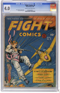 Golden Age (1938-1955):Adventure, Fight Comics #8 (Fiction House, 1940) CGC VG 4.0 Cream to off-white pages. Art by John Celardo, George Tuska, and Leonard Fr...