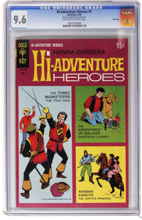 Hi-Adventure Heroes #1 File Copy (Gold Key, 1969) CGC NM+ 9.6 Off-white to white pages. Three Musketeers, Gulliver, and...