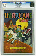 Golden Age (1938-1955):Funny Animal, Hurricane Comics #1 (Cambridge House / Superior Publishers, 1945)CGC FN/VF 7.0 Off-white to white pages. Overstreet 2005 FN...