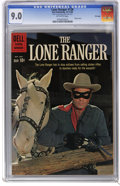 Silver Age (1956-1969):Western, The Lone Ranger #136 File Copy (Dell, 1960) CGC VF/NM 9.0 Off-white pages. Photo cover. Overstreet 2006 VF/NM 9.0 value = $1...