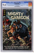 Silver Age (1956-1969):Adventure, Mighty Samson #3 File Copy (Gold Key, 1965) CGC NM+ 9.6 Off-white to white pages. Painted cover by Morris Gollub. Frank Thor...