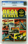 Golden Age (1938-1955):War, Real Heroes Comics #11 Pennsylvania pedigree (Parents' MagazineInstitute, 1943) CGC VF/NM 9.0 Cream to off-white pages. Ove...