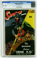 Shadow Comics V7#7 (Street & Smith, 1947) CGC VF/NM 9.0 Off-white to white pages. Bob Powell art. Overstreet 2006 VF...