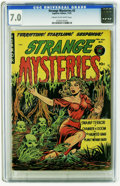 Golden Age (1938-1955):Horror, Strange Mysteries #2 (Superior, 1951) CGC FN/VF 7.0 Cream tooff-white pages. Overstreet 2006 FN 6.0 value = $114; VF 8.0 va...