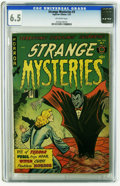 Golden Age (1938-1955):Horror, Strange Mysteries #3 (Superior, 1952) CGC FN+ 6.5 Off-white pages.Overstreet 2005 FN 6.0 value = $105; VF 8.0 value = $200....