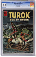 Silver Age (1956-1969):Adventure, Turok #27 File Copy (Dell, 1962) CGC VF+ 8.5 Off-white pages. Painted cover. Alberto Gioletti art. Overstreet 2006 VF 8.0 va...